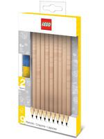 LEGO - Bricks Pencils 9-Pack