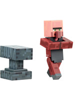Minecraft - Blacksmith with Anvil Action Figure