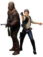 Star Wars - Han Solo & Chewbacca Ep IV - Artfx+