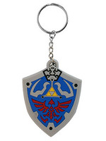Legend of Zelda - Hyrulian Crest Rubber Keychain