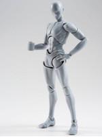 Body Kun Takarai Rihito DX Set Gray - S.H. Figuarts