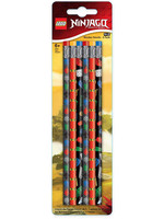 LEGO Ninjago - Pencil 6-Pack