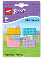 LEGO Friends - Mini-Erasers 4-Pack
