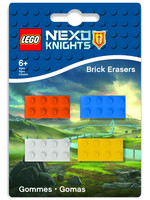 LEGO Nexo Knights - Mini-Erasers 4-Pack
