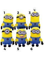 Minions - Plush Figures with Plastic Eyes - 28 cm