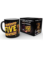 Five Nights at Freddy's - I Survived Heat Change Mug
