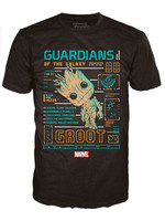 Guardians of the Galaxy - Groot Line-Up - POP! Tees