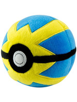 Pokemon - Plush Pokeball - Quick Ball