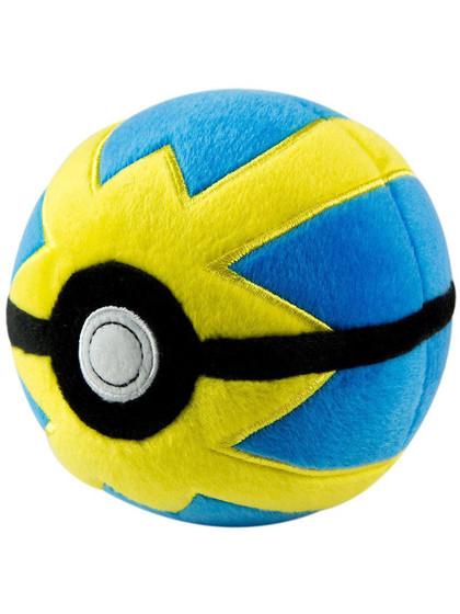 Pokemon - Plush Pokeball - Quick Ball