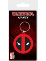 Marvel - Deadpool Symbol Rubber Keychain