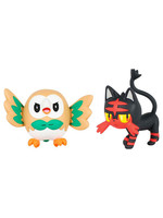 Pokemon -  Rowlet vs Litten
