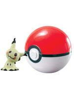 Pokemon - Mimikyu Clip´n´Carry Poké Ball