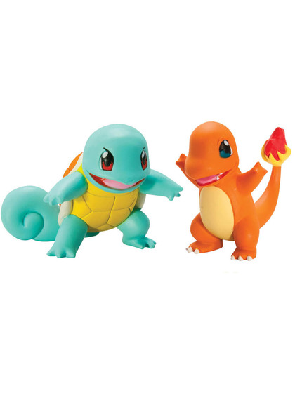 Pokemon - Squirtle vs Charmander