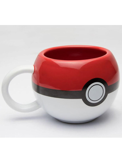 Pokemon - 3D Pokeball Mug