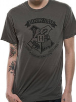 Harry Potter - Distressed Hogwarts T-Shirt