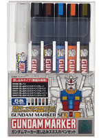 Gundam Marker - Panel Line Wash Marker Set