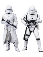 Star Wars - First Order Snowtrooper & Flametrooper 2-Pack - Artfx+