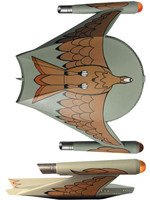 Star Trek - Romulan Bird-of-Prey - 23 cm