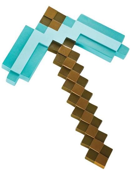 Minecraft - Diamond Pickaxe Plastic Replica - 40 cm