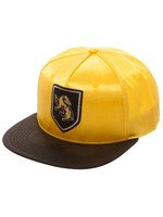 Harry Potter - Hufflepuff Crest Satin Snap Back Cap