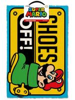 Super Mario - Shoes Off Doormat