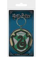 Harry Potter - Slytherin Rubber Keychain 6 cm
