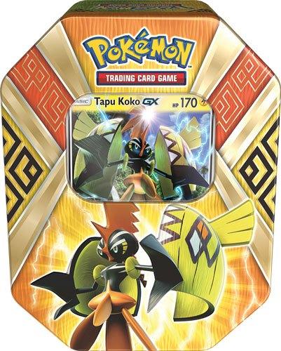 Pokemon - Summer Tin Island Guardians - Tapu Koko GX