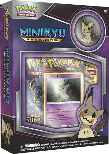 Pokemon - Mimikyu Pin Collection Box
