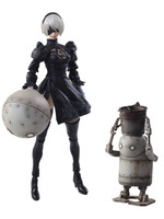 NieR Automata Bring Arts - 2B & Machine Lifeform