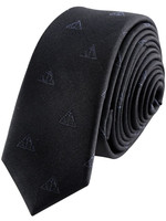 Harry Potter - Deatlhy Hallows Tie & Metal Pin