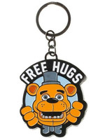 Five Nights at Freddy's - Free Hugs Metal Keychain