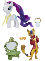 My Little Pony - Rarity n Capper Friendship Pack