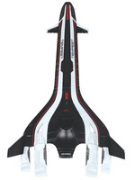 Mass Effect - Tempest Ship Replica - 20 cm