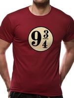 Harry Potter - Platform 9 3/4 T-Shirt Red