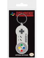Nintendo - SNES Controller Rubber Keychain