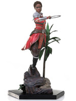 Black Panther - Nakia Battle Diorama Statue