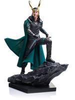 Thor Ragnarok - Loki - Battle Diorama Statue
