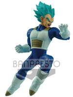 Dragonball - Super Saiyan Blue Vegeta - In Flight Fighting
