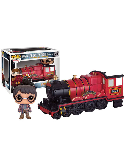 POP! Vinyl Rides - Hogwarts Express Engine & Harry Potter