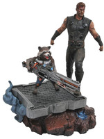 Marvel Premier Collection - Thor & Rocket Raccoon Statue