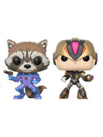 POP! Vinyl Marvel vs. Capcom - Rocket vs. MegaMan X 2-Pack