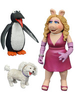 The Muppets Select - Miss Piggy, Foo Foo & Penguin