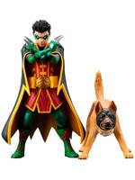 DC Comics - Robin & Ace the Bat-Hound 2-Pack - Artfx+