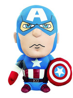 Marvel - Captain America Talking Plush - 20 cm