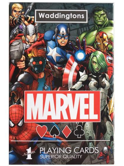Marvel Universe Waddingtons Playing Cards