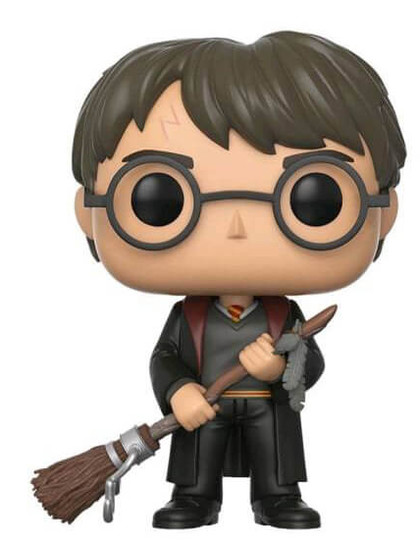 POP! Vinyl Harry Potter - Harry with Firebolt & Feather Exclusive