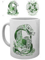 Harry Potter - Slytherin Monogram Mug