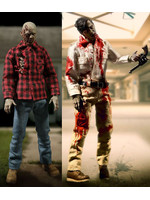 Dawn Of The Dead - Flyboy & Plaid Shirt Zombie 2-Pack - One:12