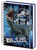 Jurassic World Fallen Kingdom - Wiro Notebook A5