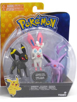 Pokemon - Espeon, Umbreon & Sylveon 3-pack